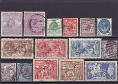 Great Britain 1870/1959 – Queen Victoria , King Edward VII , King George V and VI and Queen Elizabeth – A small collection