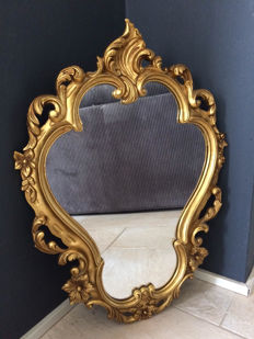 Beautiful mirror rococo style, second half 20th century, France,
