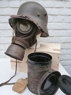 German M1916 Gas mask