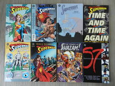 Superman, Supergirl, Shazam, Sovereign Seven, The Hunger and Zero Hour - 10x Trade Paperbacks - (1993 / 1999)