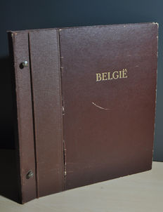 Belgian Congo and territories - collection in an album and a stock book.