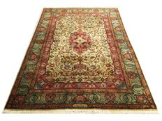 Splendid oriental carpet: Tabriz 280 x 190 cm around 1960!