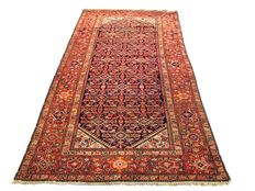 Handmade Persian carpet Malayer 300 x 162 cm, ca. 1930