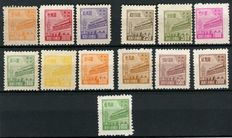 North East China - Tien An Men Gate, $250 - $50,000, Including the unissued $50,000 - 普东2, Stanley Gibbons NE300/311