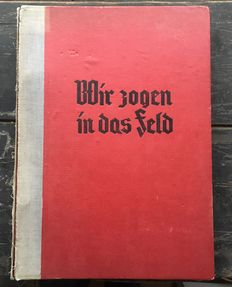 Photo album with regimental history Germany-51 military photos, wehrmacht