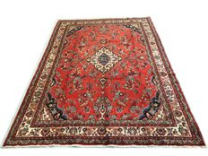 Splendid Persian palace rug: Sarough 310 x 230 cm circa1970!.