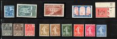 France 1929/1936 – Stamp Collection