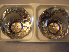 Swarovski Paperweights 50 mm Rotary International (2)