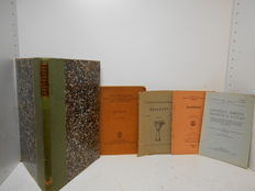 A collection of 5 Archaeology / Cuneiform Texts - 1903 / 1961
