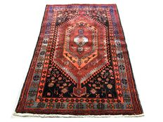 Incredible handmade Persian carpet: Antique Koliyai 205x135 cm, from 1950!