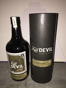 Rum Kill Devil Single Cask 15-letni - Destylowany w destylarni Uitvlugt w Gujanie 70 cl i 46°