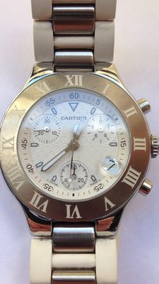 Cartier Chronoscaph - 2424 - men's watch - 2000s