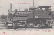 Very good lot of 50 locomotives of France and Germany