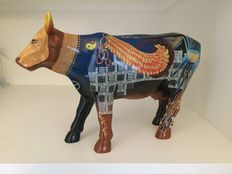 Cow Parade - Cowparade - K.C. Sacred Cow - Resin - EXTRA LARGE -RETIRED and RARE!