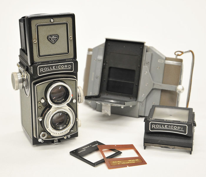 "Rolleicord Vb ""grey"""