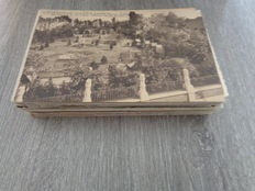 Belgium postcards old village views, early 20th century / 75 pieces