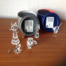 Swarovski - cat large - cat sitting - replica cat - tomcat - cat mini