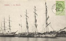 Sailing ships, 70 x-various countries-1900/1960