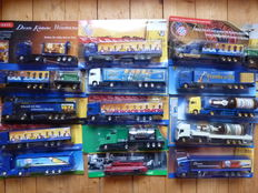 Various - Scale 1/87 - Lot with 55 Models: Collection of 55 Advertising Trucks - Germany