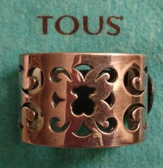 Tous. Rigid bracelet cuff. Model: Kenya. 925 sterling silver.