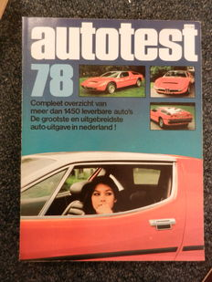 Autotest yearbooks 10 items from the years: 1977, 1978, 1980, 1981, 1985, 1987, 1987, 1990, 1990, 1991.