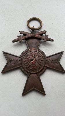Honour cross for participation in World War 1, Germany