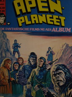 Apen planeet + House of mystery + John Carter + Atari Force + Cable - 5x Complete reeks - 84x sc - [1975/1989]