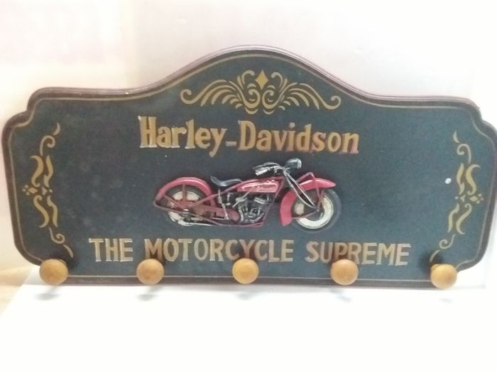 Wooden Coat Rack Harley Davidson Second Half Of The 40th Century Custom Harley Davidson Coat Rack