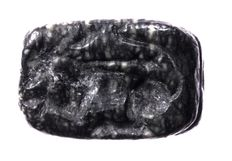 Stamp seal, caught lion, 1100 - 900 B C, agate - length = 18.8mm