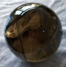 Magnificent, extremely transparent Smoky Quartz sphere - 110 mm - 2kg