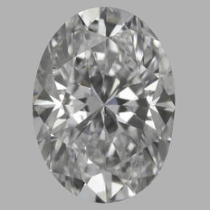 0.30ct Oval Brilliant Diamond E SI1  IGI - SEALED #1421