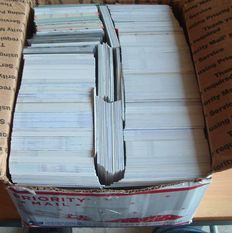 More then 2500 trading cards from the NFL usa