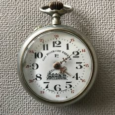 Gre.  Roskopf patent – (Roskopf copy) – Swiss made – pocket watch – circa 1910