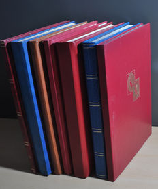 World - Batch in various stock books.