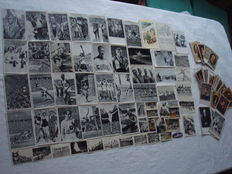 """Third Reich; Lot of 210 x collecting image """"Olympic 1936, The German army in operation, figures of world history, Raubstaat, England"""" + 2 x post card"""