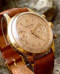 Swiss Ixor chronograph - Men's wristwatch  - From the '50s/60's.