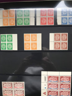 Israel 1948-1958 - Collection in Lindner album with case
