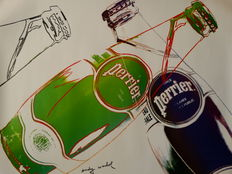 Andy Warhol (after) - Perrier