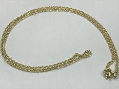 Hungarian model gold choker, no reserve.