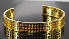 Gucci - Bangle in 18 kt gold with box * no reserve *