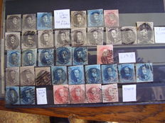 Belgium, 1849/1990 - Collection, with repetitions.