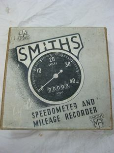 "Smiths km teller ""Cycle Speedometer"" - Bouwjaar c.1950"