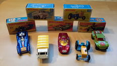 Lesney Matchbox 1-75- Scale 1/66-1/76 - lot with 5 models: Nos.61, 39, 61, 45 and 13