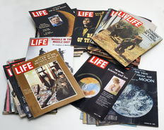 Magazines; Lot with 67 numbers of Life - 1969/1971