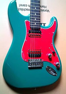 Vision Customised/Modified Unique Rock Fat Strat Electric Guitar - Brand New Instrument