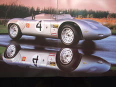 Porsche - l'art subtil des voitures de sport - book about Porsche with exclusive photographs by Lucinda Lewis (ed.  1994)