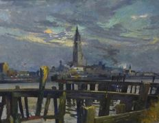 Unknown (20th century) - the port of Antwerp