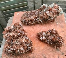 Rough pieces of aragonite - 12 to 21 cm - 4 kg (3)