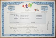 USA - eBay Inc. - Share Certificate 2003