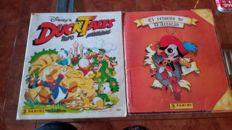 Panini - The Return of D'atacan + Ducktales - 2 Complete albums.